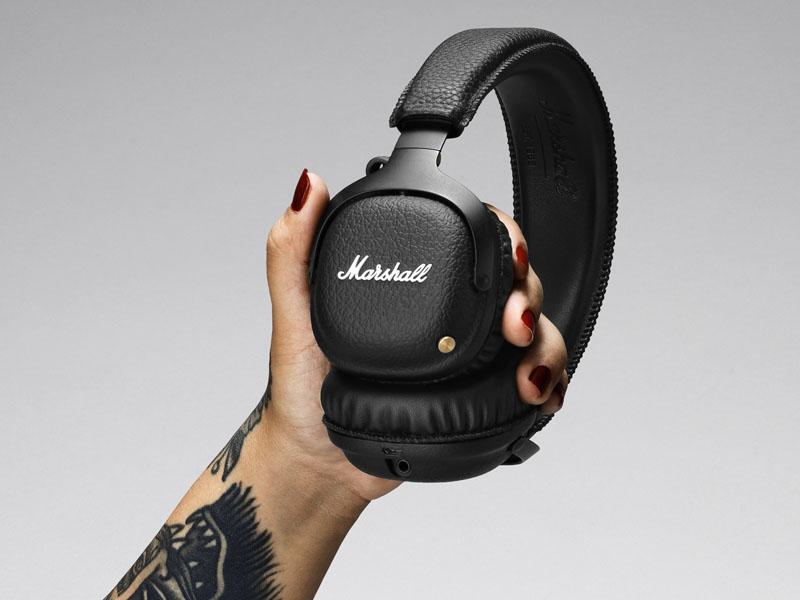 Marshall HEADPHONESブランドのBluetoothヘッドフォン「MID Bluetooth」