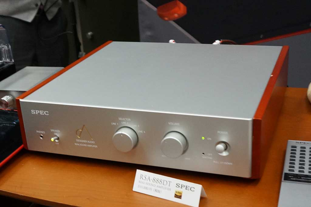 """スペックは電解コンデンサ""""響一""""搭載アンプ「RSA-888DT」"""