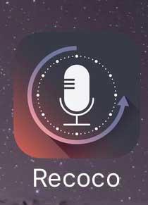  https://itunes.apple.com/jp/app/recoco/id1183772977?mt=8 「Recoco」 @@現在は無料で使える