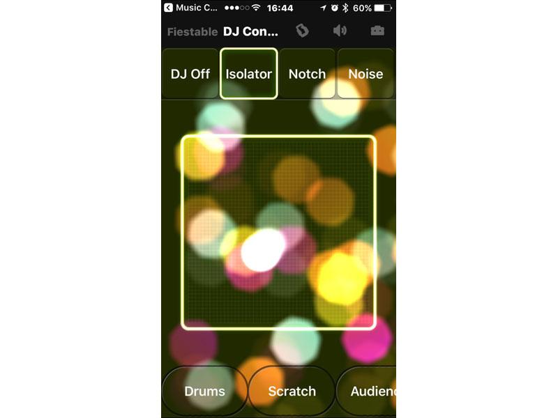 光と音で音楽に参加できるアプリ「Fiestable」