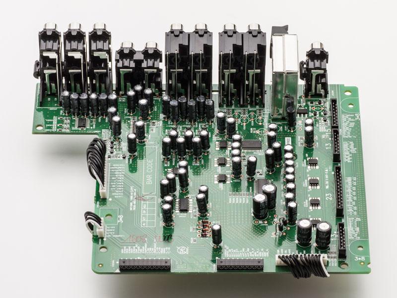 プリアンプ回路も一新