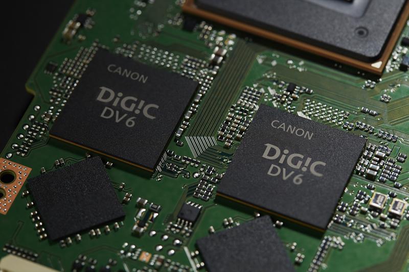 映像処理プラットフォームには「DUAL DIGIC DV6」を採用