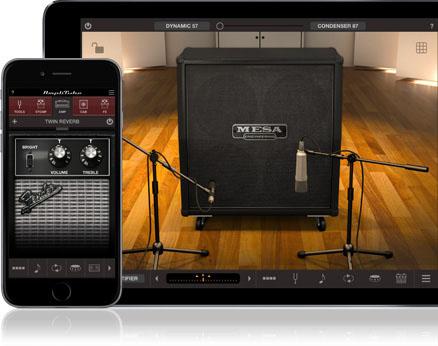AmpliTubeでエフェクト調整したサウンドを鳴らせる