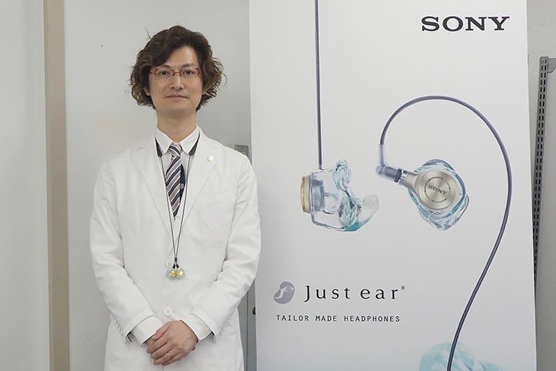 開発を手掛けた松尾伴大氏が製品について説明してくれる