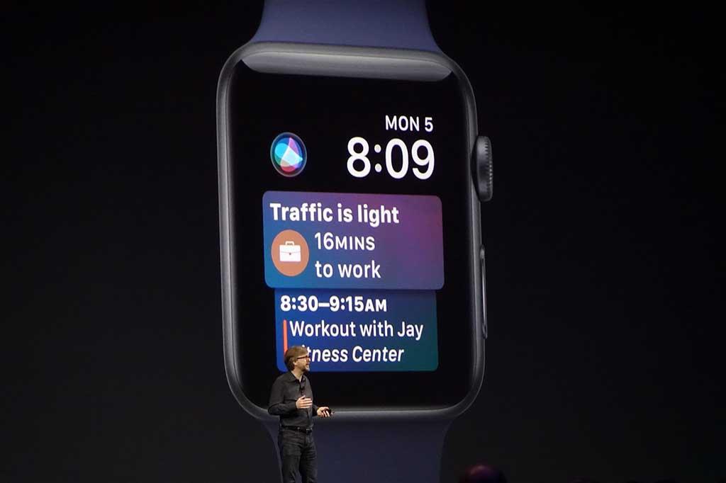 WatchOS次期バージョンでは、Siriをエージェントとしてより活用。「次になにをすべきか」といった点を考慮して行動を伝える機能がフィーチャーされる
