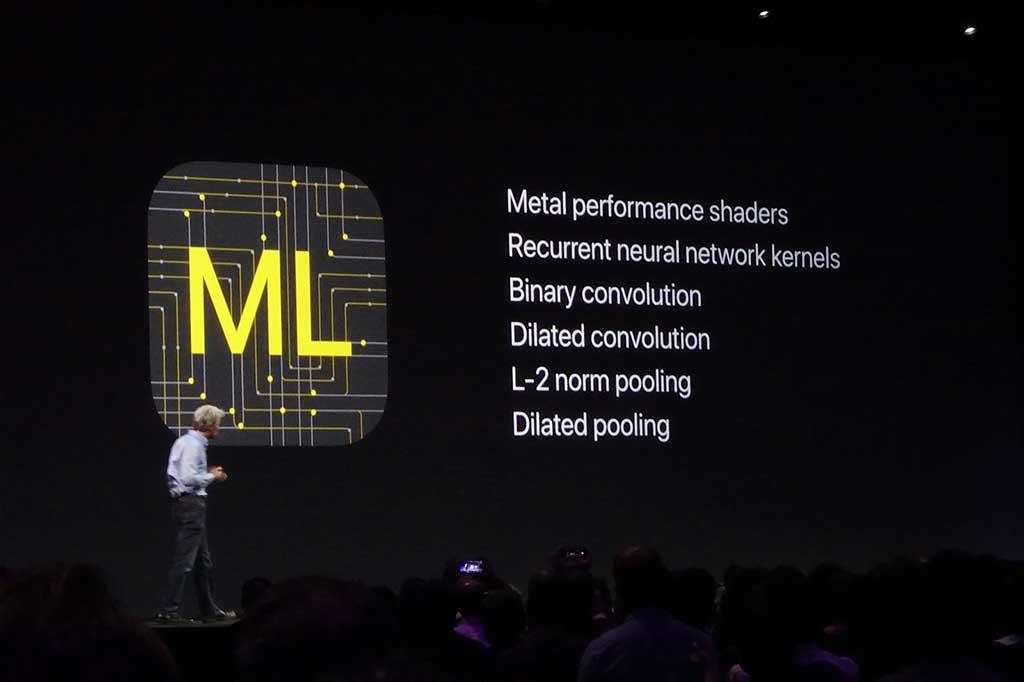 機械学習用のフレームワークとなるCoreML。セキュリティを確保した状態で、大量のデータから機械学習を活用するソフトを開発することを助ける
