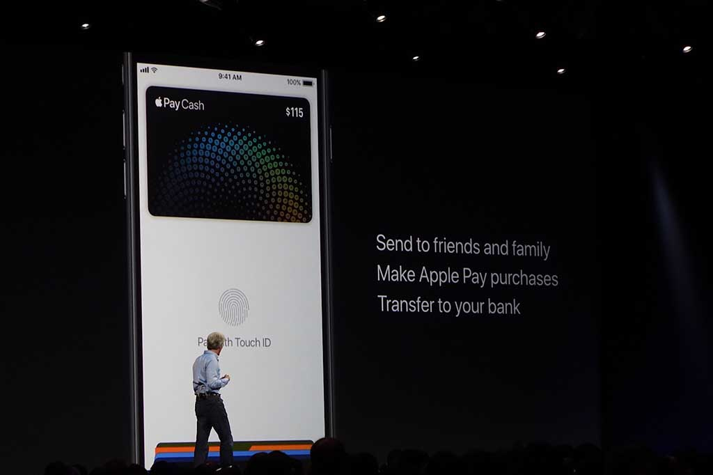 Apple Payでの個人間決済が実現。ただし、現状はアメリカドルでの決済のみが対象だ