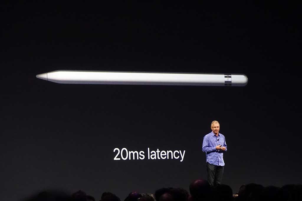 新iPad Proでのペン描画遅延は「20ms」に。従来の半分になり、業界最短クラスになった