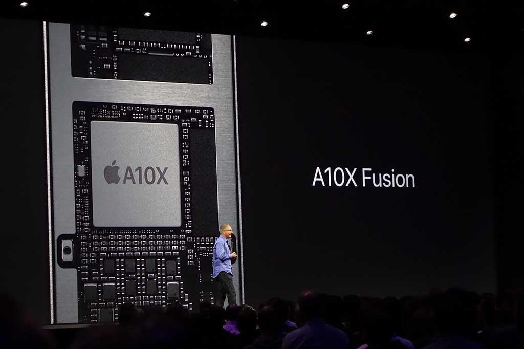 新iPad ProのCPUは「A10X Fusion」