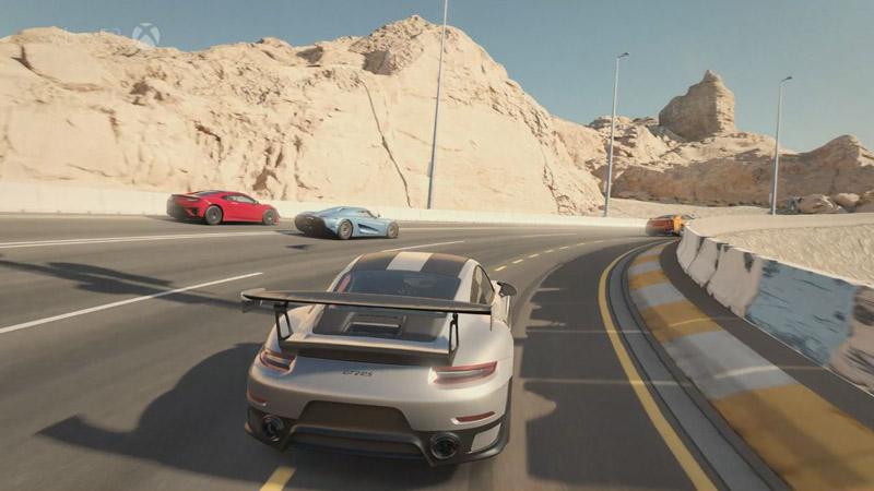 Forza 7は4K/60pで楽しめるという