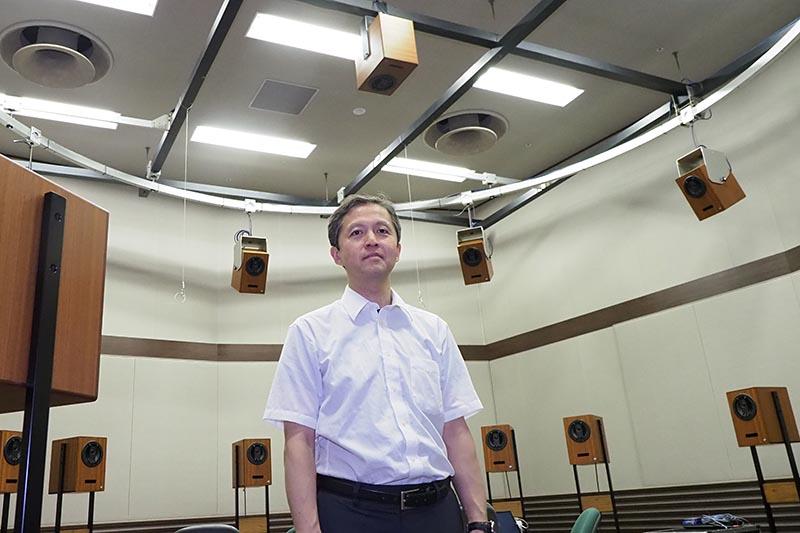 NHK放送技術研究所 テレビ方式研究部 上級研究員の小野一穂氏