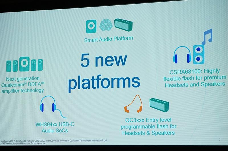 5つのプラットフォームに関して説明