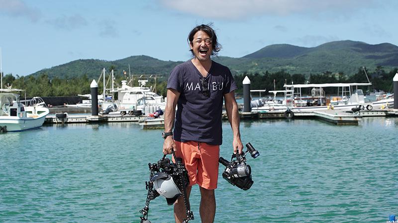 水中写真家・鍵井靖章氏