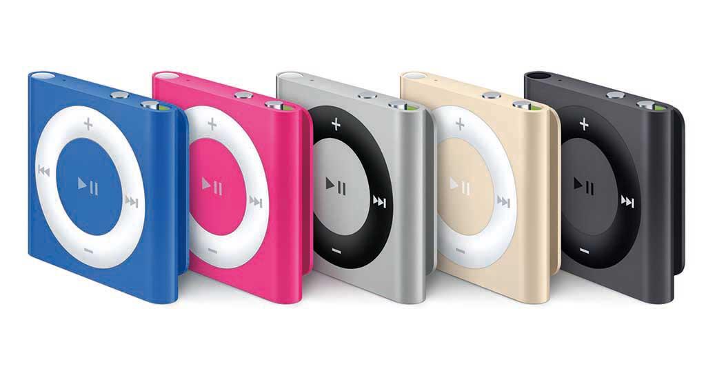 第4世代iPod shuffle