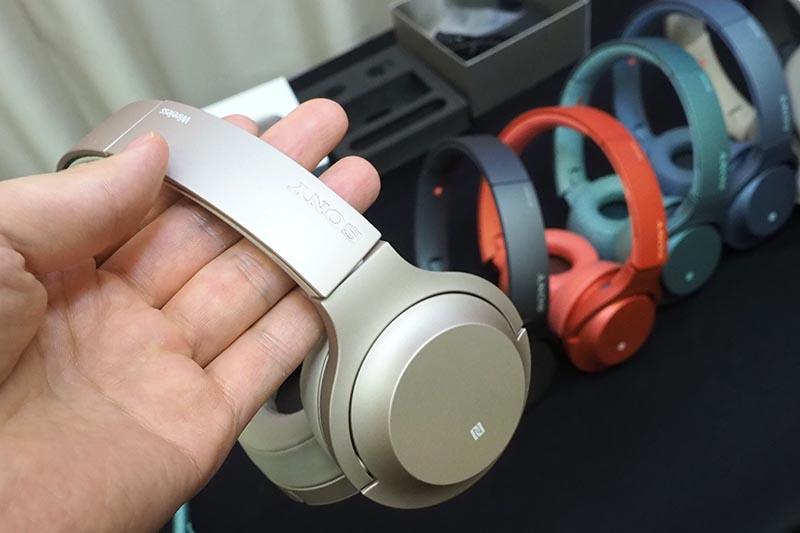 オンイヤー型「h.ear on 2 Mini Wireless」