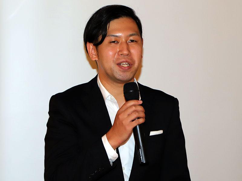 ネイビーズ セールス&マーケティング・ディレクターの中村拓也氏