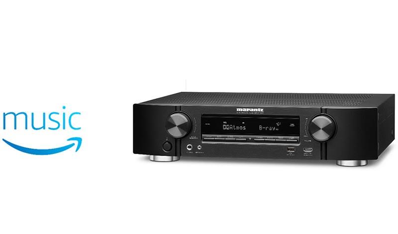 マランツの薄型AVアンプ「NR1608」もAmazon Prime Music対応に