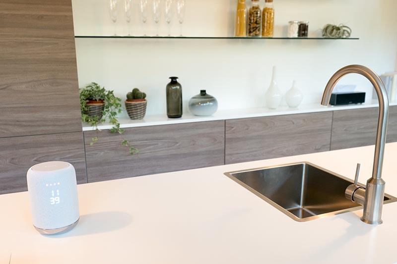 キッチンでの利用を想定したソニーのLF-S50G