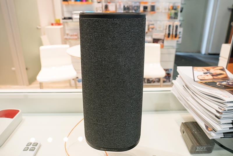 MusicManのMultiroom Soundstation。複数スピーカーを連携させることもできる。Alexa対応