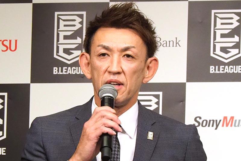 新たに理事に加わった折茂武彦氏。社長、選手、理事という3足のわらじをはく新シーズンとなる