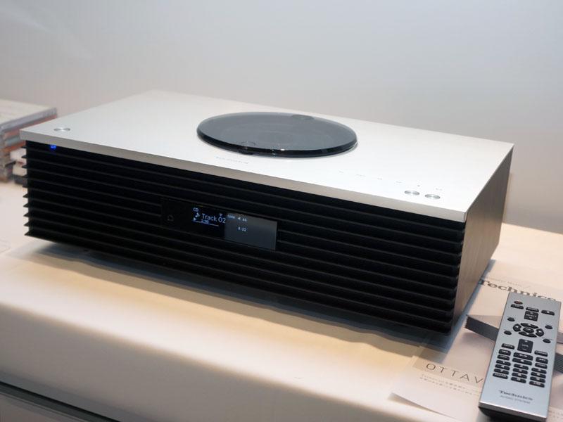 ハイレゾ対応一体型オーディオシステム「OTTAVA f SC-C70」