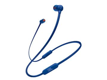 JBL、直販3,380円で6色のBluetoothイヤフォン「T110BT」 T110BT(ブルー)