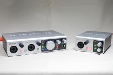 約1万円の台湾USBオーディオ上陸。ハイレゾDACにもなる「MiDiPLUS」2モデルの実力 「STUDIO 2」(左)と「STUDIO m」(右)
