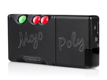 """Mojoをハイレゾプレーヤー化する「Poly」が英国発売。日本は""""近日中に案内"""" 「Mojo」(左)と「Poly」(右)をドッキングしたところ"""