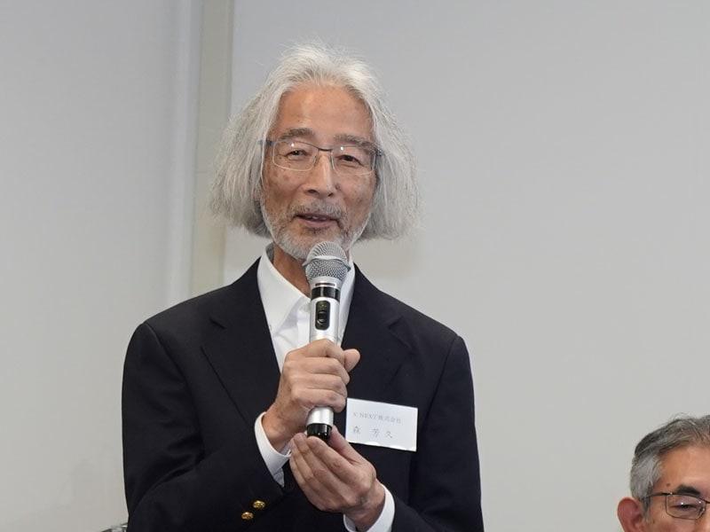 S'NEXTの顧問、森芳久氏
