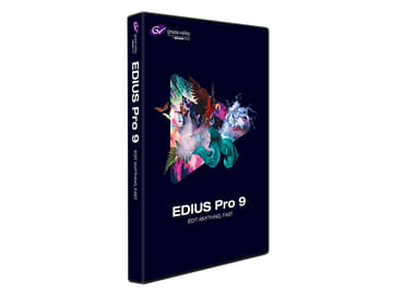 4K対応、HDR/SDR混在編集もできる映像編集ソフト「EDIUS 9」 パッケージ版「EDIUS Pro 9」