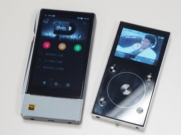 "FiiOから新プレーヤー。576GBまで拡張「X7 II」と""最強エントリー""「X3 III」 左から「X7 Mark II」、「X3 Mark III」"