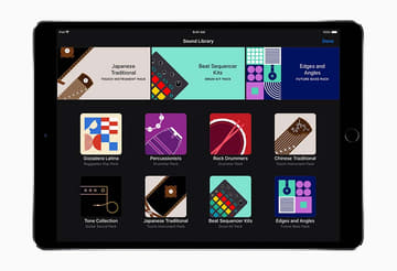 琴や太鼓に対応し、ビートシーケンサーも強化した新「GarageBand」 GarageBand 2.3にサウンドパック追加