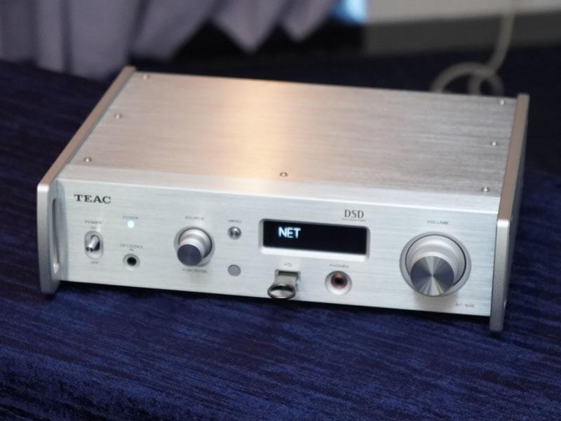 USB DAC搭載のネットワークオーディオプレーヤー「NT-505」