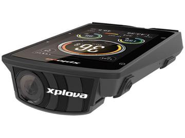 アクションカメラとサイクルコンピュータを一体化、上り坂で自動録画開始「X5-Evo」 アクションカメラ内蔵のサイクルコンピュータ「X5-Evo」