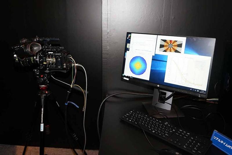 リアルタイムMTF測定装置
