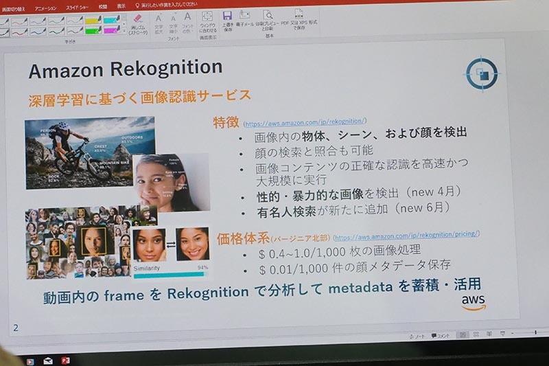 Amazon Rekognitionの概要