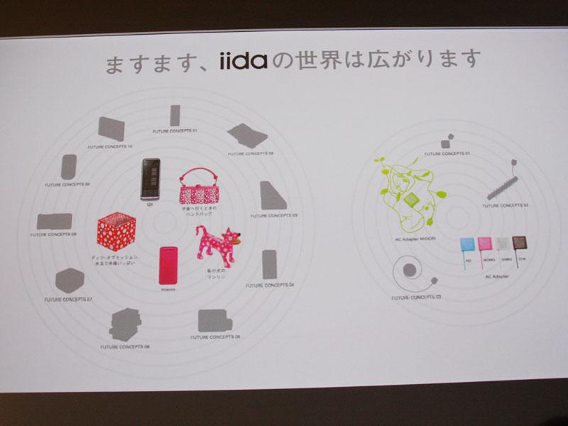 デザインコンセプトモデル(発売日未定)も多数展示された