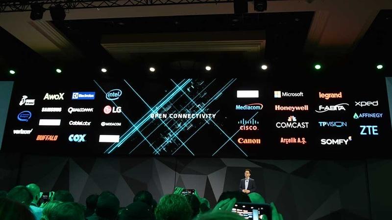 OCF加盟企業一覧。これらの企業とも相互連携してDeepThinQの展開を目指す