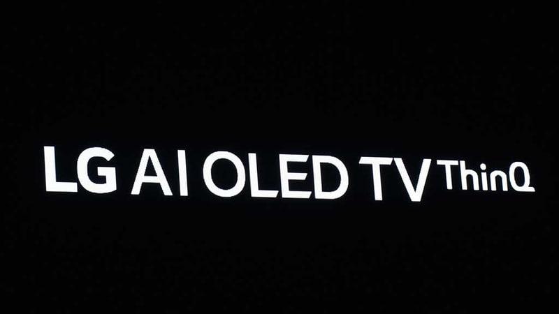 LGはAIを有機ELテレビに統合させる、と発表