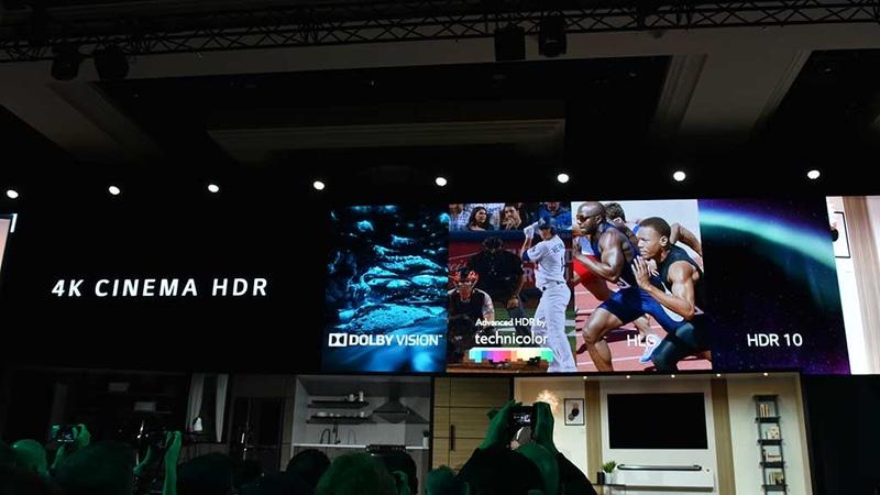 最新HDRフォーマットに一通り対応
