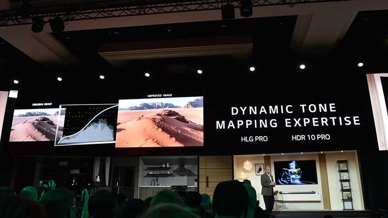 「Dynamic Tone Mapping」機能は、換言すればトーンカーブをこれから表示するHDR映像に合わせてリアルタイムに変更するもの、ということができる