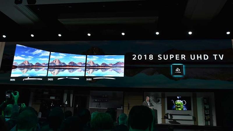 SUPER UHD TVの2018年モデルラインナップ。映像エンジンはα9ではなく液晶パネルに最適化されたα7を搭載