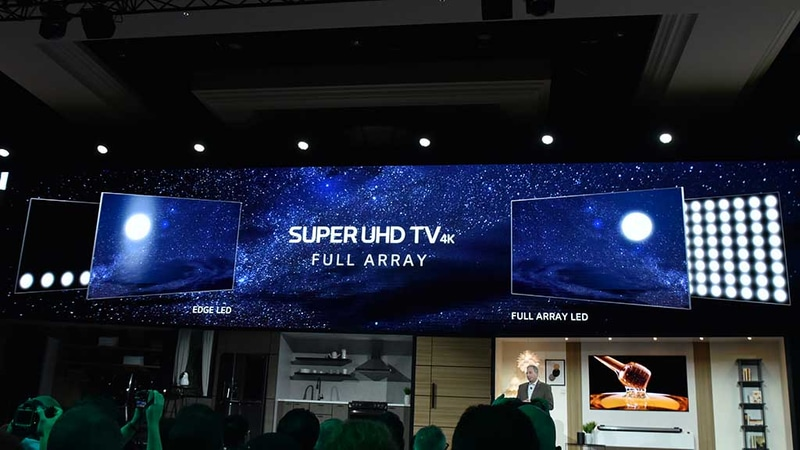 LGはNano Cell技術を採用した4Kテレビを「SUPER UHD TV」とブランディングする。2018年モデルは全モデル直下型バックライトシステムを採用するという