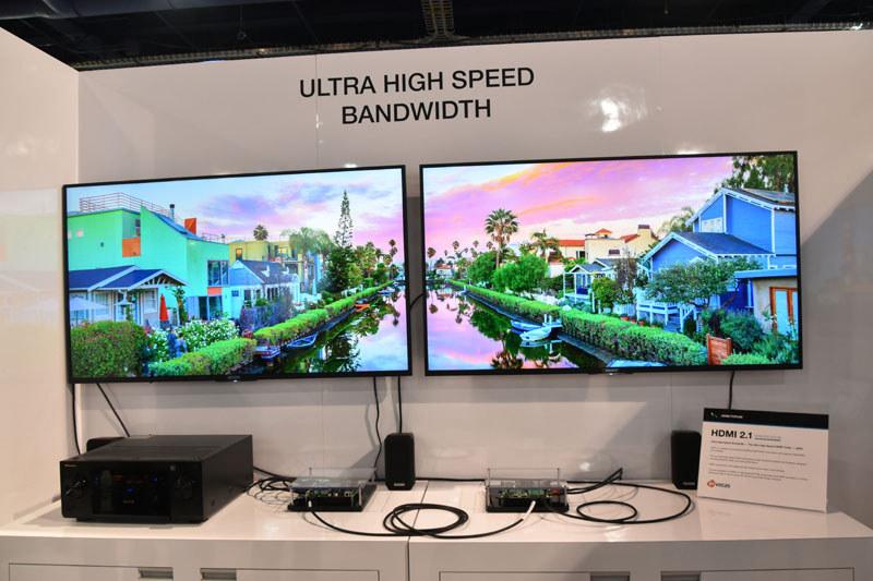 HDMI 2.1の48Gbps伝送デモがついに一般公開された