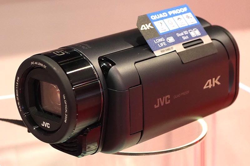 4Kで防水、防塵、耐衝撃、耐低温のGZ-RY980