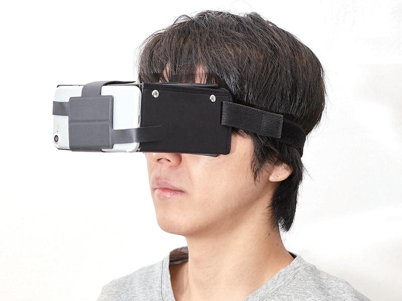 P-VR1G02の装着イメージ