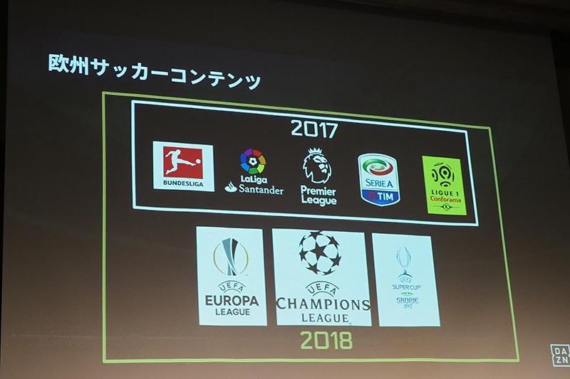 欧州サッカーコンテンツ
