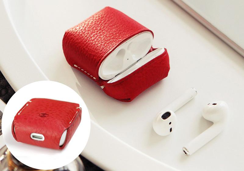 Minerva Box Leather Case(レッド)