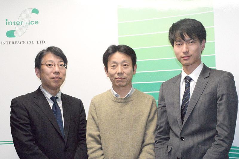 左から森拓也氏、根岸智明氏、川瀬健太氏