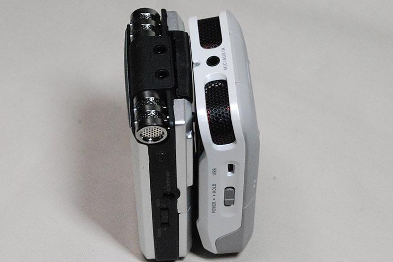 R-05(左)とR-07(右)